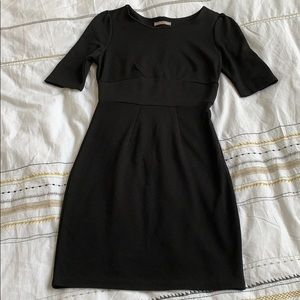 Black Mid Sleeve Boutique Dress Size XS